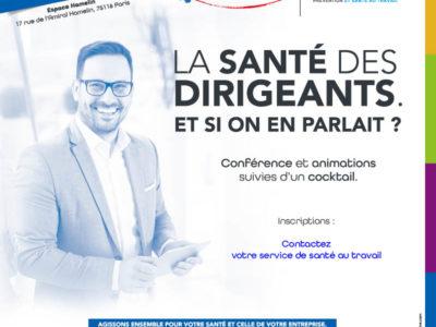 Conférence «Santé des dirigeants» – Le support en ligne