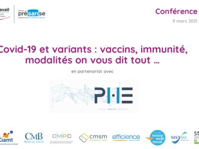 Support en ligne – Covid-19 et variants : vaccins, immunité, modalités on vous dit tout …