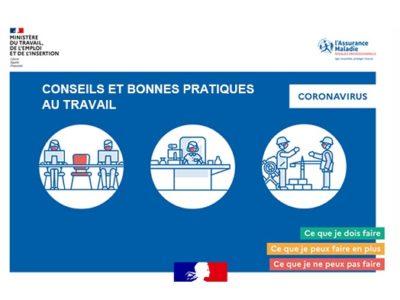 2 guides «Conseils et bonnes pratiques» – employeurs et salariés