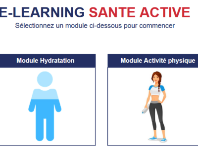 Speed-learning « santé active »