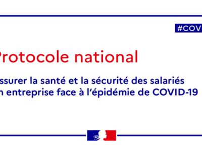 Protocole national – maj 16 octobre 2020